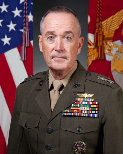 U.S. Marine Corps Gen. Joseph F. Dunford Jr., poses for command board portrait at the Pentagon, Washington, D.C. Sept. 19, 2014. (U.S. Marine Corps photo by Cpl. Michael C. Guinto / Released)